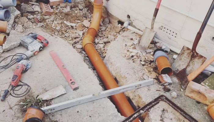 Drain Excavation And Repair